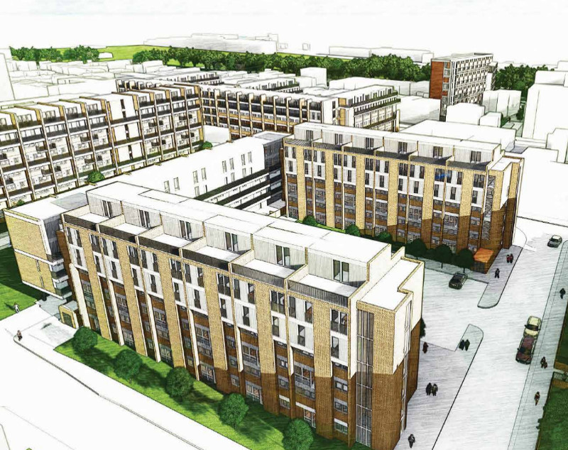 East End Homes New Planning Application with Regards to Eric and Treby Estate.