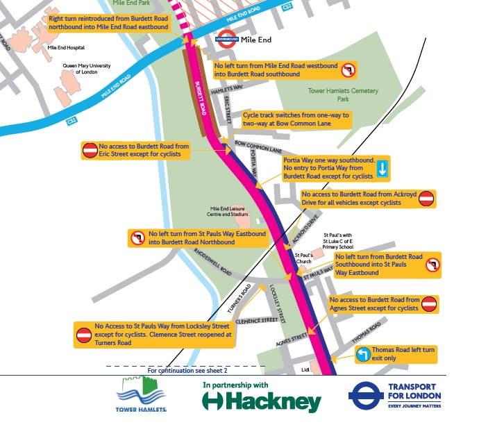 Asking Transport for London (TFL) to Rerun the Hackney to Canary Wharf Cycle Route Outside of Ramadan